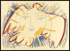 3 février ~ Pablo-Picasso-Visage-de-la-paix--S-rigraphie--7564