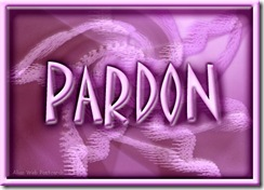 9 avril ~ pardon