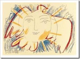 5 juillet ~ Pablo-Picasso-Visage-de-la-paix--S-rigraphie--7564