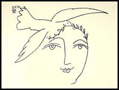 28 avril ~ Pablo-Picasso-L-homme-en-prole---la-paix-166150