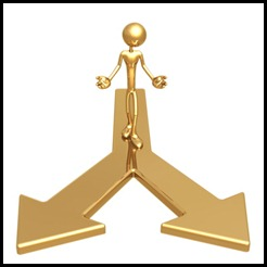 26 AOÛT ~ decisions-gold-figure-arrows