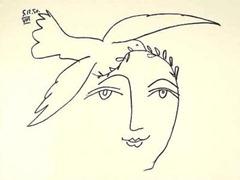 20 oct ~ Pablo-Picasso-L-homme-en-prole---la-paix-166150